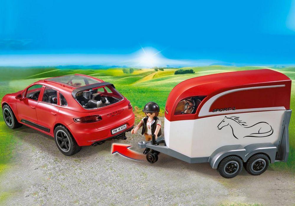Playmobil 9376 Sportsamp; Gts Action Macan Porsche PTXOikuZ