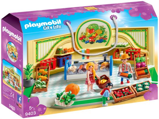 PLAYMOBIL City Life 9403 Epicerie