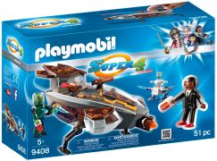 PLAYMOBIL Super 4 9408 - Navette d'interception sykronienne avec Gene pas cher