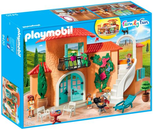 PLAYMOBIL Family Fun 9420 Villa de vacances