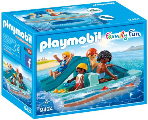 PLAYMOBIL Family Fun 9424 Pédalo
