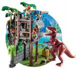 PLAYMOBIL The Explorers 9429 Campement des Explorers avec tyrannosaure