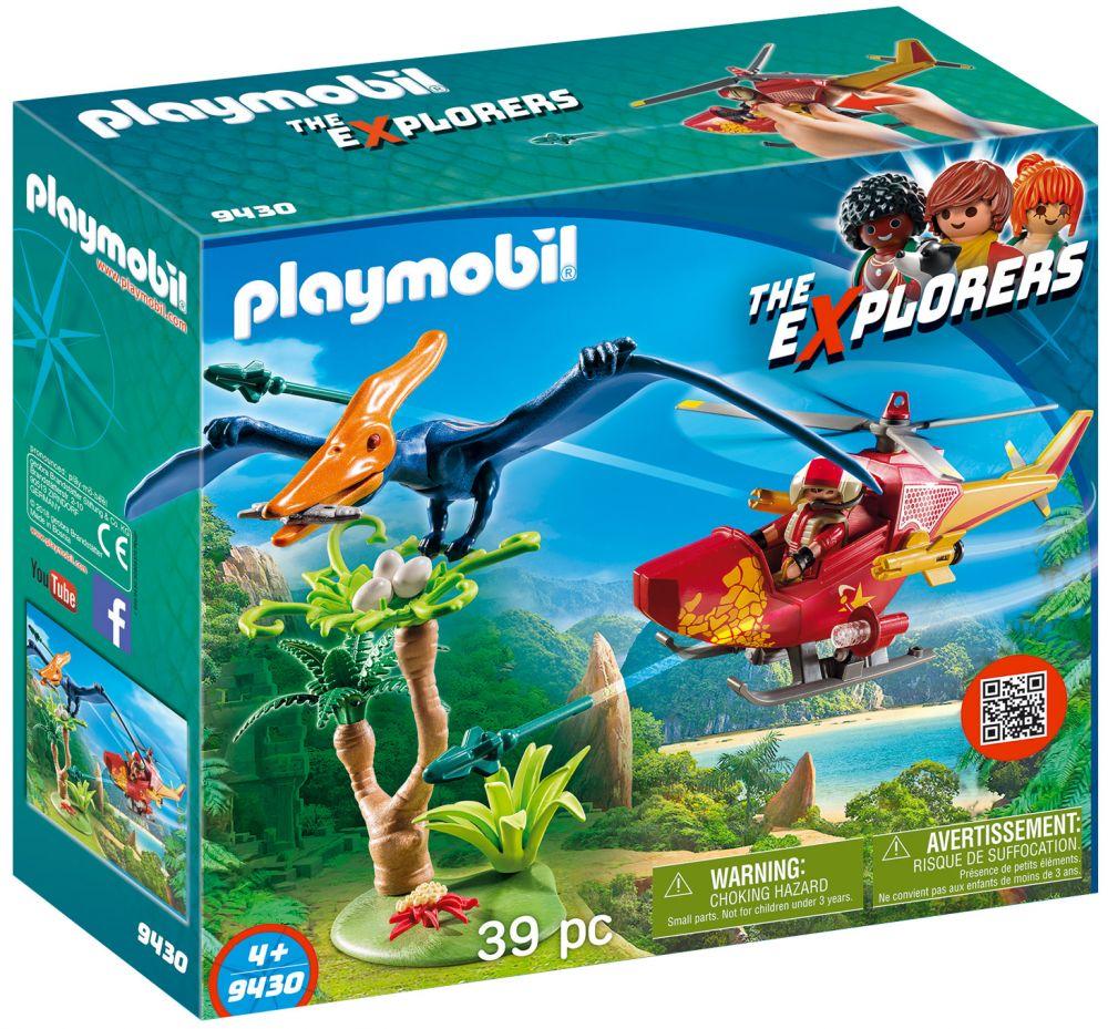 Et 9430 Ptéranodon Hélicoptère The Cher Playmobil Explorers Pas k0wOPn