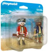 PLAYMOBIL Pirates 9446 - Pirate et soldat pas cher