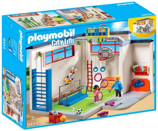 playmobil city life 9454 pas cher salle de sport. Black Bedroom Furniture Sets. Home Design Ideas
