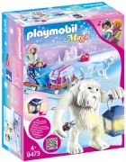 PLAYMOBIL Magic 9473 Yéti avec traineau