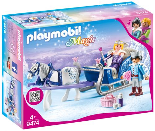 PLAYMOBIL Magic 9474 Couple royal et calèche