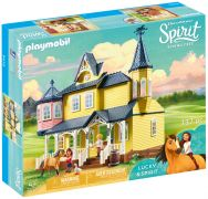 PLAYMOBIL Spirit - Riding Free 9475 Maison de Lucky