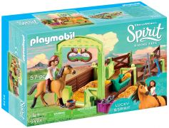PLAYMOBIL Spirit - Riding Free 9478 Lucky et Spirit avec Box