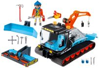 PLAYMOBIL Family Fun 9500 Agent avec chasse-neige