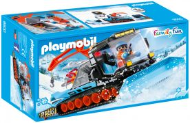 PLAYMOBIL Family Fun 9500 - Agent avec chasse-neige pas cher