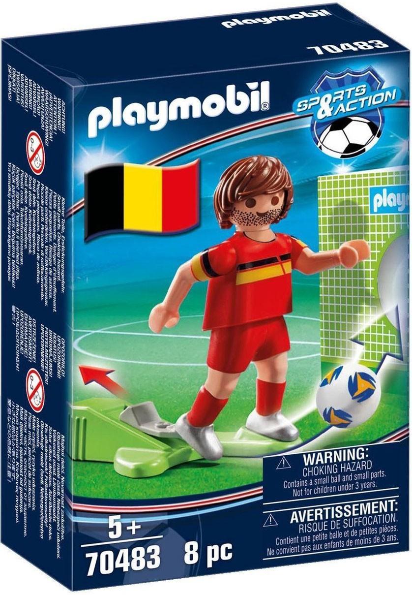 PLAYMOBIL Sports & Action 70483 Joueur Belge Nouveauté 2021