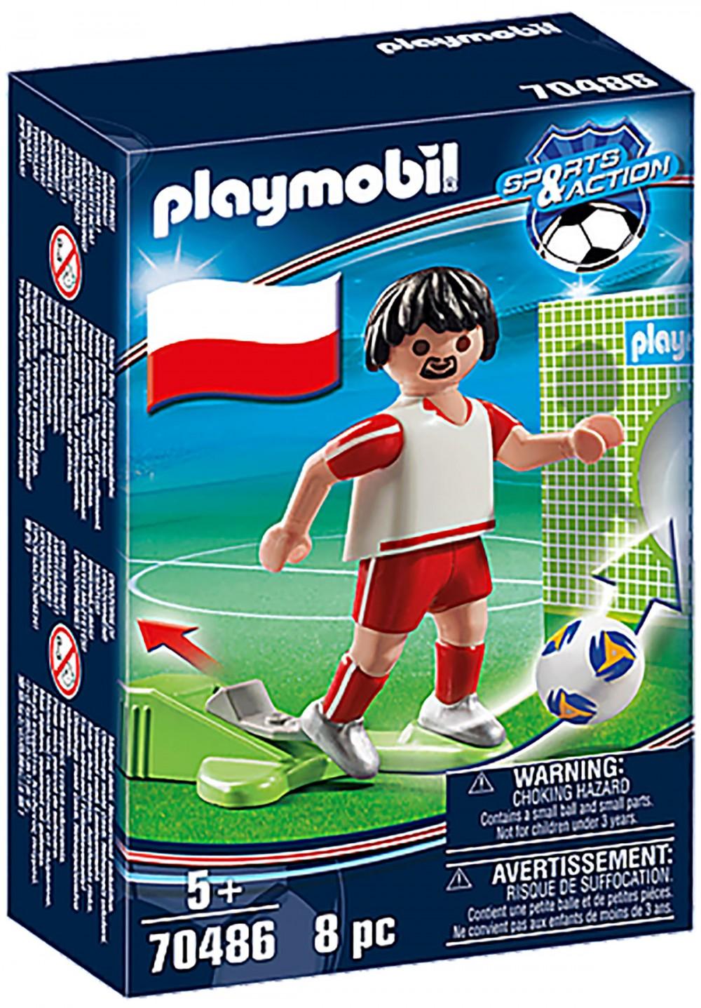 PLAYMOBIL Sports & Action 70486 Joueur Polonais Nouveauté 2021