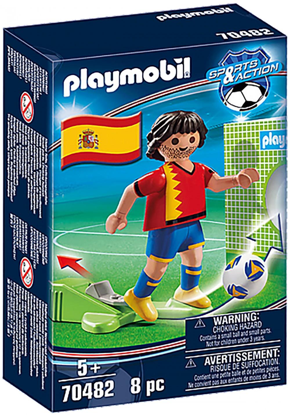 PLAYMOBIL Sports & Action 70482 Joueur Espagnol Nouveauté 2021