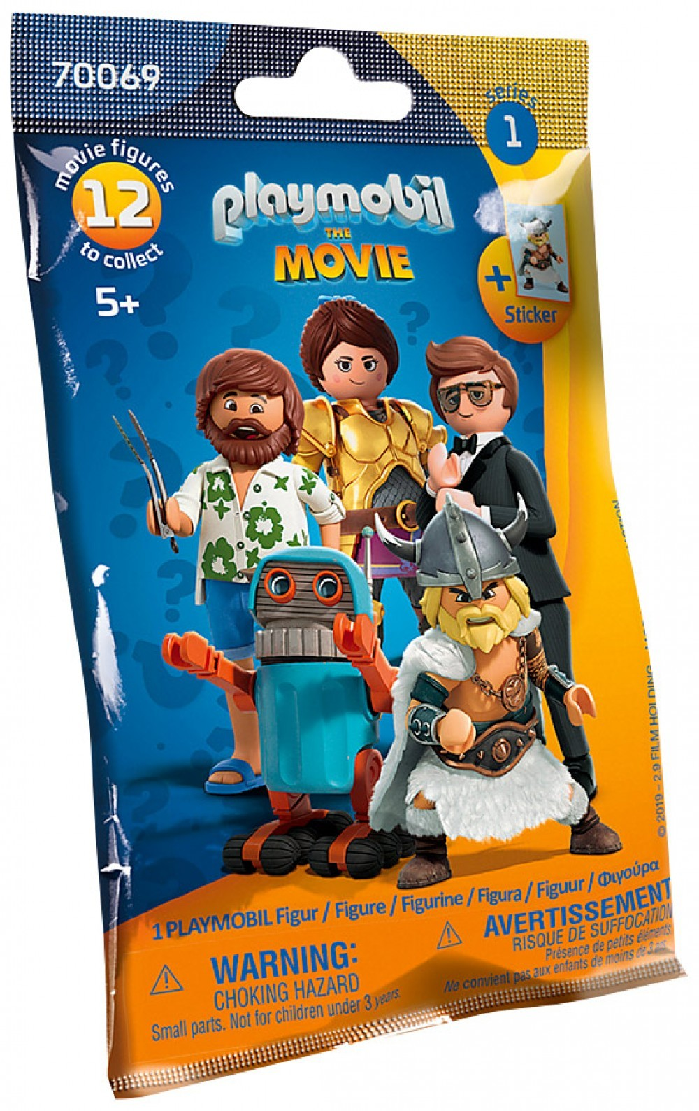 Nouveau Playmobil Le Film 70069 The Movie Figures - Série 1