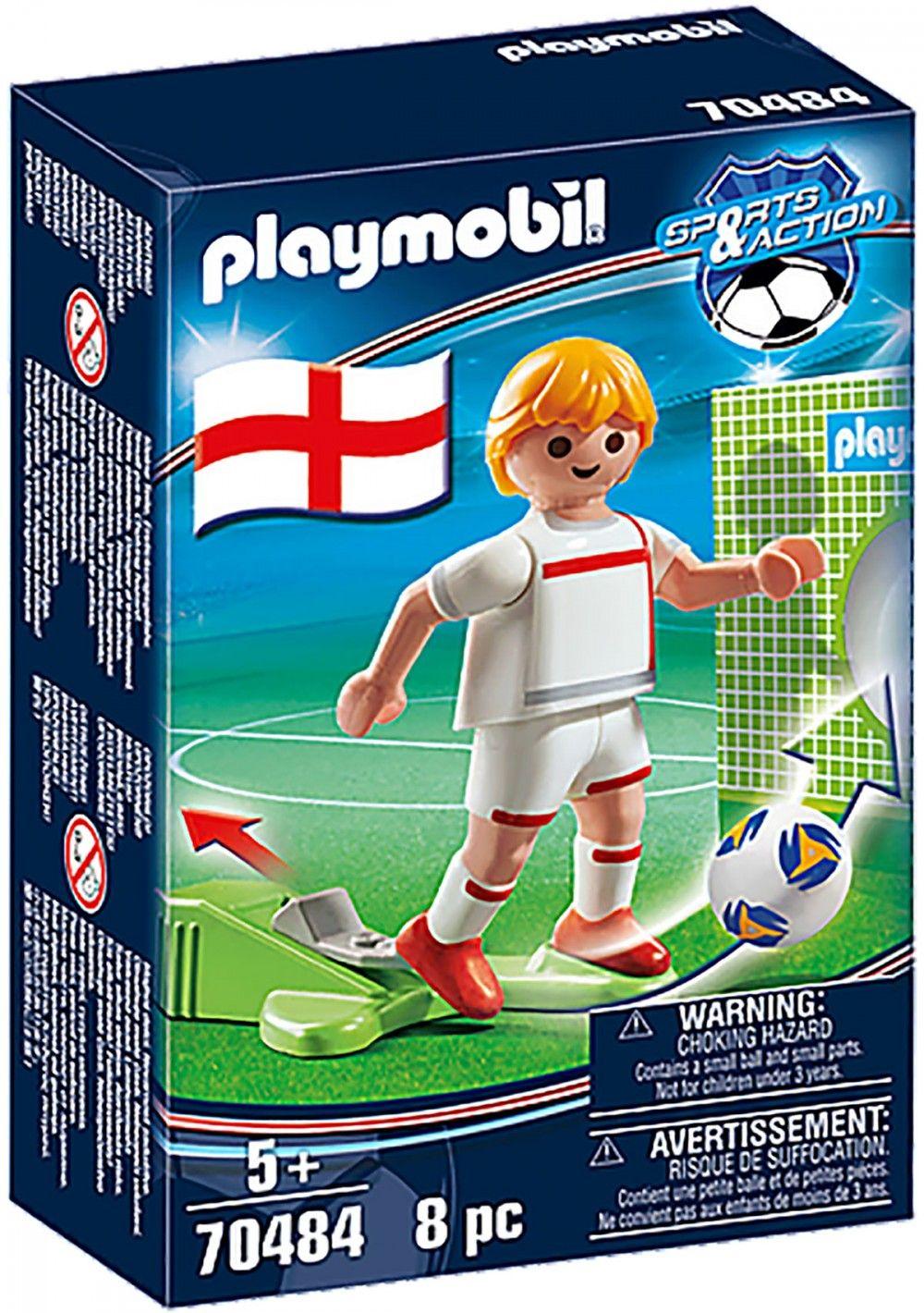 PLAYMOBIL Sports & Action 70484 Joueur Anglais Nouveauté 2021