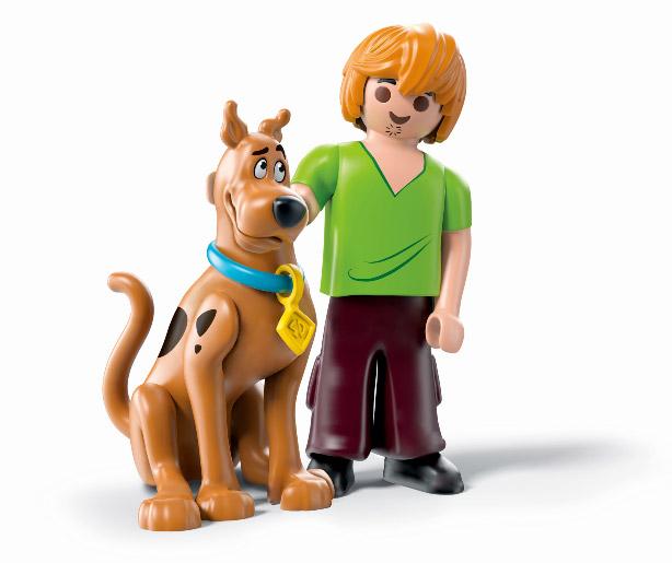 Scooby-Doo et Sammy en Playmobil