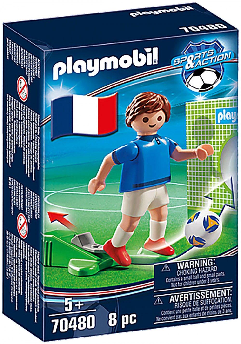 PLAYMOBIL Sports & Action 70480 Joueur Français - A