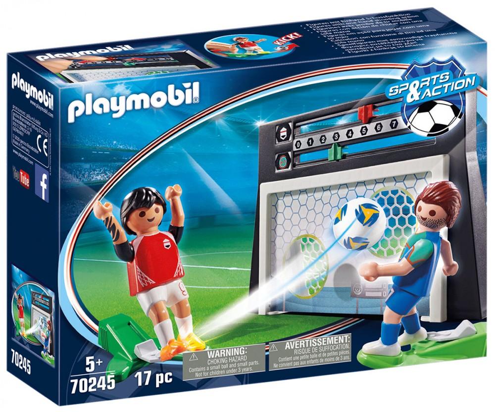 PLAYMOBIL Sports & Action 70245 Cage avec tirs aux buts Nouveauté 2021
