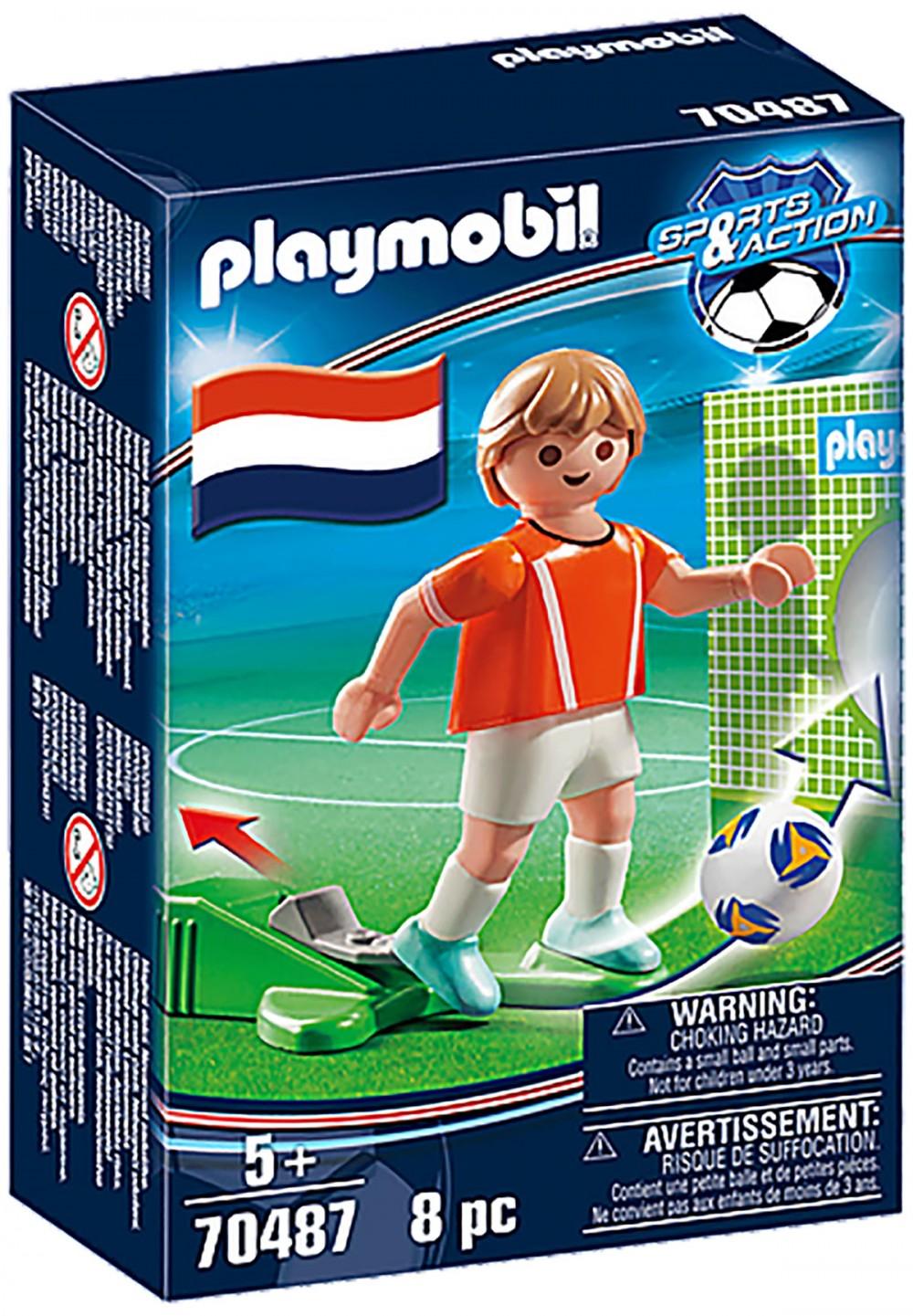PLAYMOBIL Sports & Action 70487 Joueur Néerlandais Nouveauté 2021